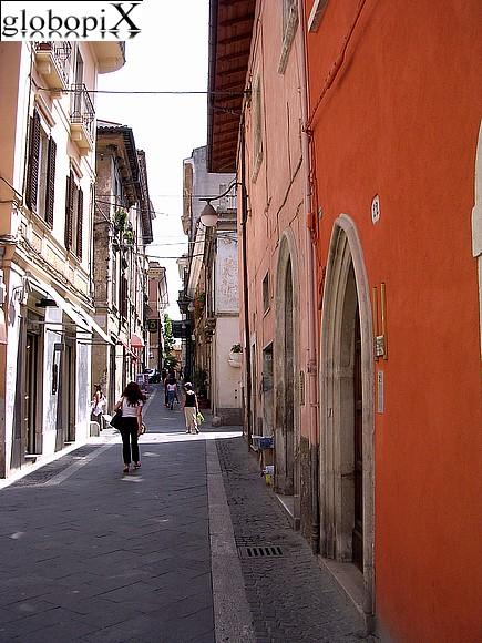 foto laquila  centro storico di l aquila