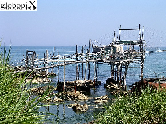 Fossacesia - Coast of the Trabocchi