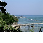 Photo: The coast of the Trabocchi