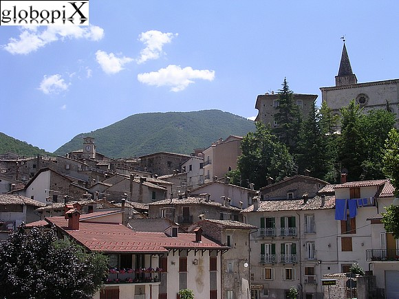Scanno - Panorama of Scanno