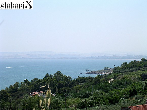 Vasto - Panorama of the coast