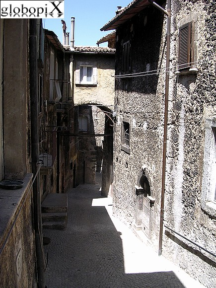 Scanno - Scanno's historical centre