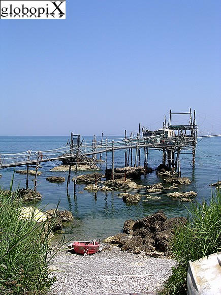 Fossacesia - The coast of the Trabocchi