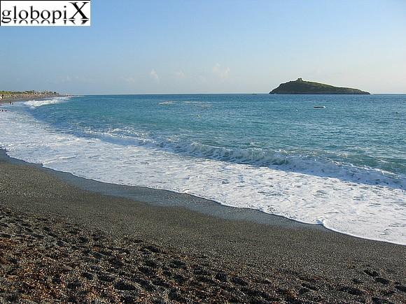 29 november 2016 calabria scalea spiaggia e isola di cirella