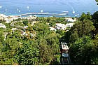 Photo: Cable car from Marina Grande to Capri