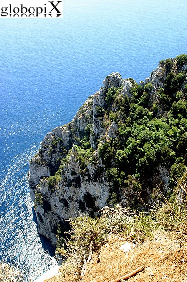 Capri - Capri's sea cliffs