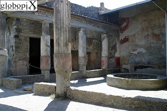 Foto pompei casa della caccia antica globopix for Planimetrie della casa antica