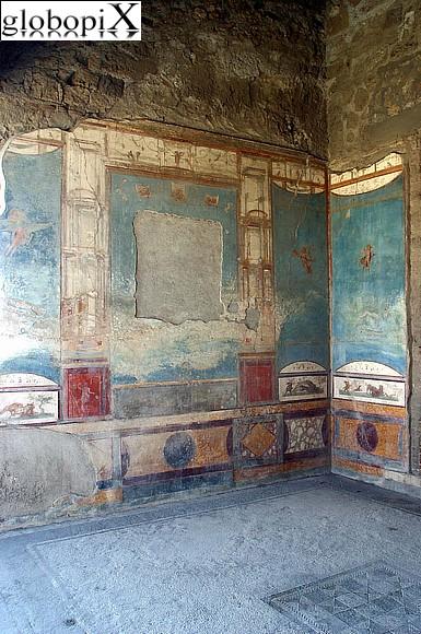 Foto pompei casa della caccia antica 2 globopix for Planimetrie della casa antica