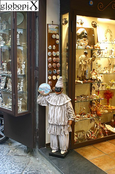 Naples - Ceramics shop