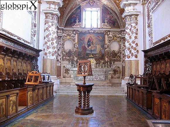 Certosa di Padula - Altare maggiore