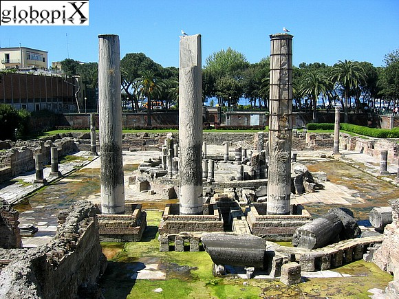 Pozzuoli - Macellum or also called Tempio di Serapide