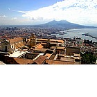 Photo: Vesuvius seen from Napoli