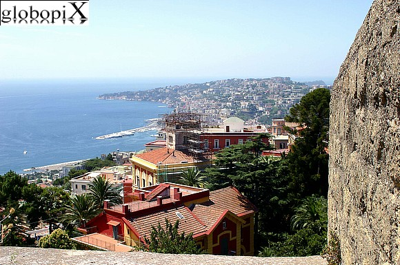 Naples - Panorama from Castel S. Elmo