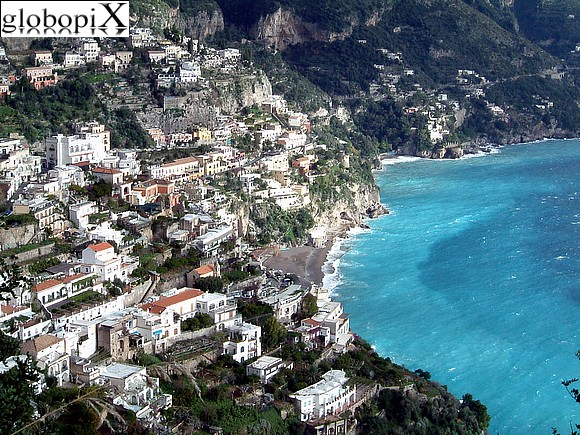 Positano - Panorama of Positano