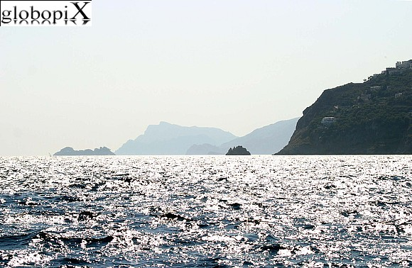 Amalfi - Panorama of the coast