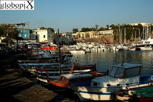 Procida - Small port of Chiaiolella