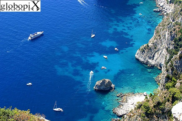 Capri - The coast