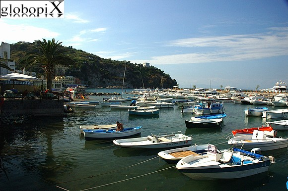 Ischia - The small port of Lacco Ameno