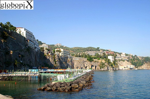 Sorrento - View of Sorrento from the sea