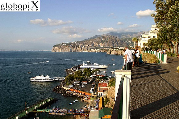 Sorrento - View of Sorrento's marina.