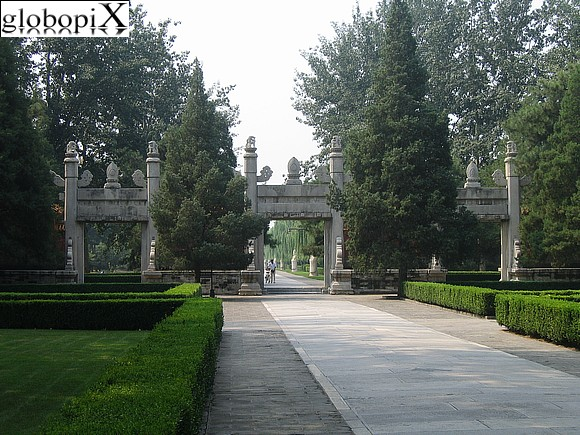 Beijing - Ming Tombs - The Sacred Way