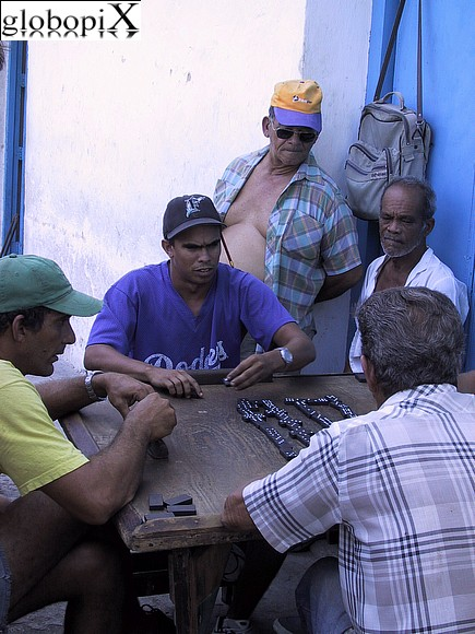 Havana - Domino players