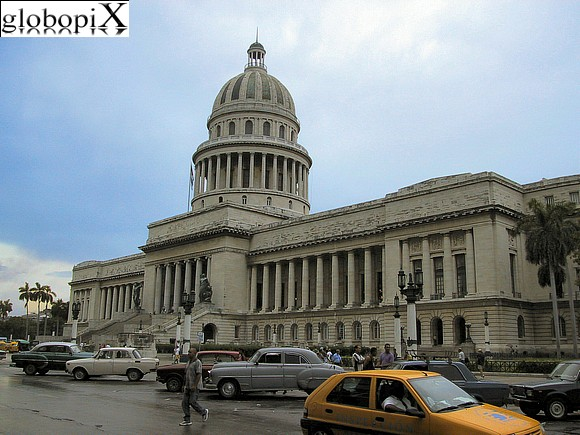 Havana - Palace of the Parliament