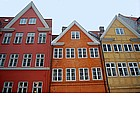 Photo: Case colorate a Copenaghen