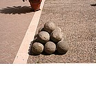 Photo: Cannon balls