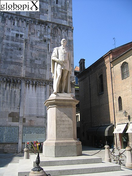 Modena - Monument to Alessandro Tassoni