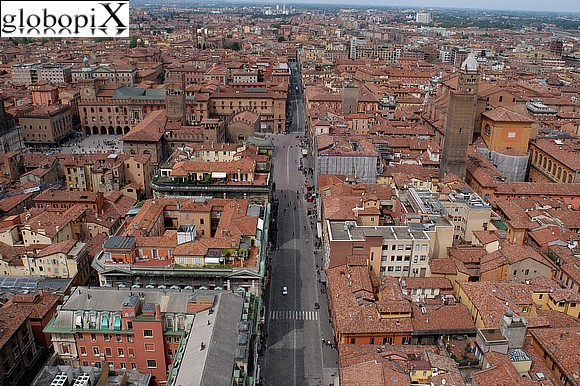 Bologna - Panorama from the Asinelli tower