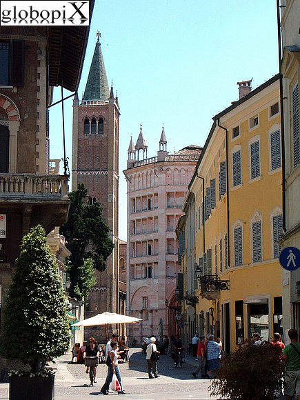 Parma - Parma's Duomo and Battistero
