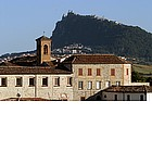 Photo: View of San Marino from Verucchio