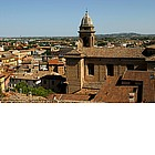 Photo: Panorama of Santarcangelo