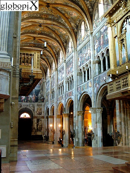 Parma - The interior of Parma's Duomo