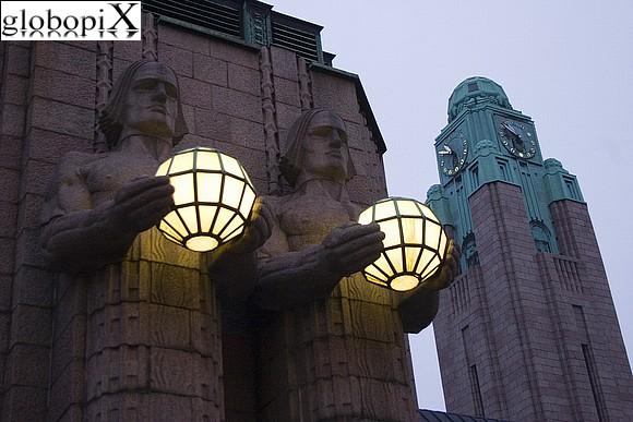 Helsinki low cost stazione ferroviaria