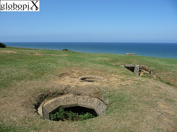 Normandy Tour - Fortificazioni a Omaha Beach