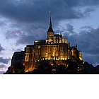 Photo: Tramonto a Mont-Saint-Michel