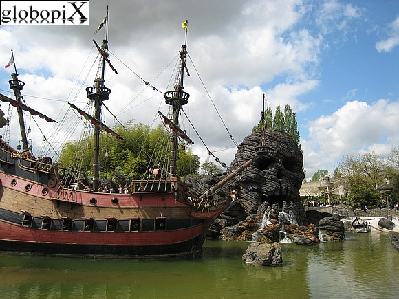 Disneyland Paris - Vascello Pirata