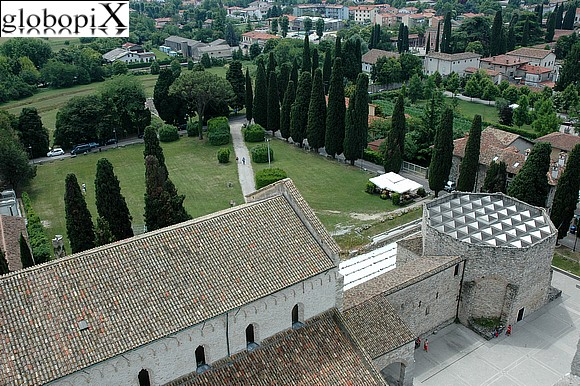 Aquileia - Panorama from the bell tower