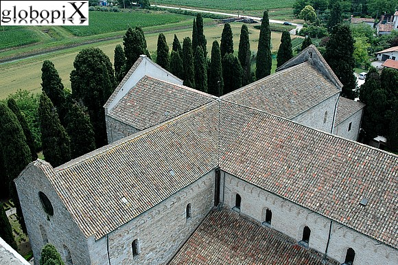 Aquileia - Panorama from the campanile