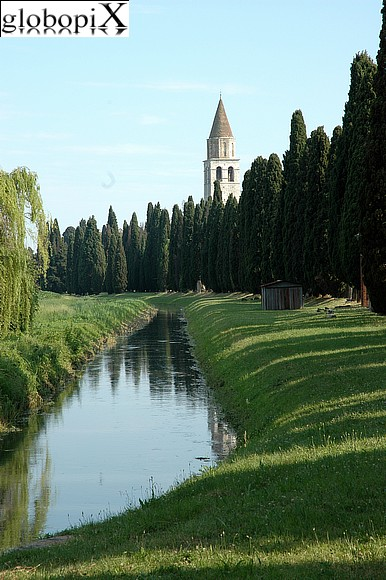 Aquileia - River harbour on the Natissa river