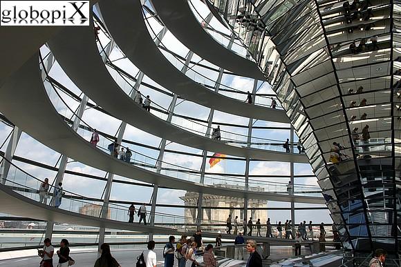Cupola del Reichstag gratis a Berlino