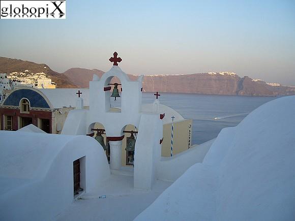 Santorini isole greche cicladi