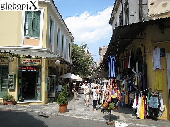 Foto atene quartiere plaka atene globopix for Ristoranti ad atene