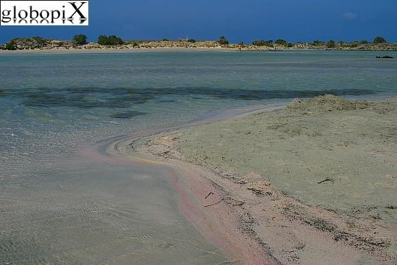 clicca sulla foto per vedere le altre foto della spiaggia di Elafonissi