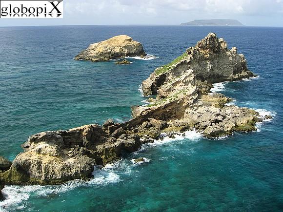 PHOTO GUADALUPA: POINTE DES CHATEAUX 3 - Globopix