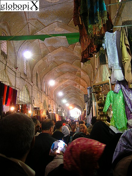 Tour dell'Iran - Bazar Vakil a Shiraz