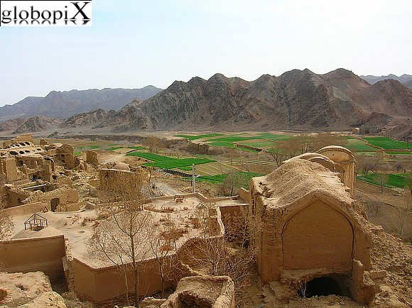 Tour dell'Iran - Vista da Kharanaq