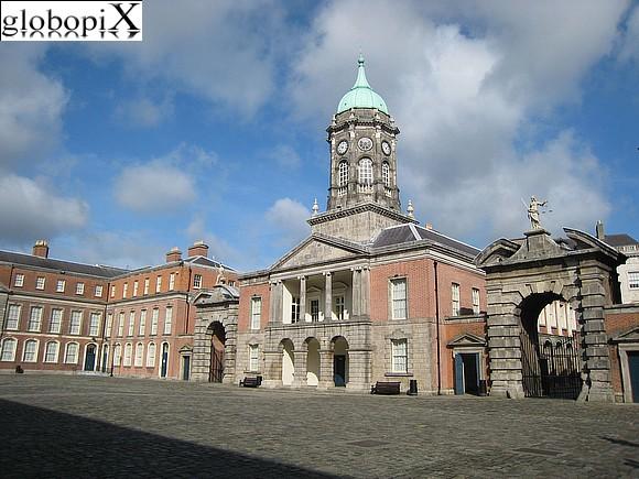 Cortile del Castello di Dublino